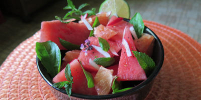 BBQ Side Dishes Watermelon Salad