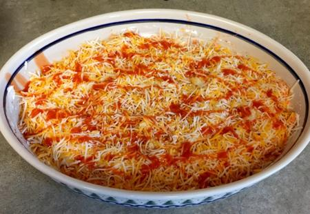 Best Football Party Recipes -- Lucky Dawg's Buffalo Chicken Dip