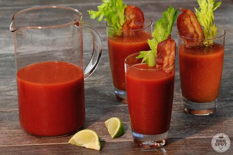 Best Super Bowl Party Recipes -- BBQ Bloody Mary