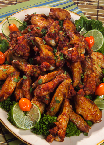 Best Super Bowl Party BBQ Recipes -- Grilled Chipotle Chili Chicken Wings