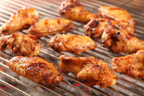 Best Super Bowl Party Recipes -- Honey Glazed Smoked Wings