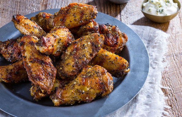 crazy grilled chicken wings