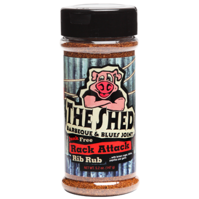The Shed Rack Attack Rib Rub