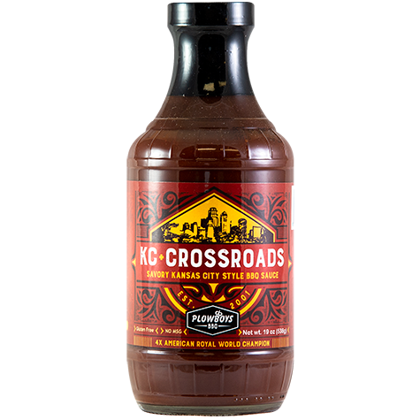 Plowboys KC Crossroads BBQ Sauce