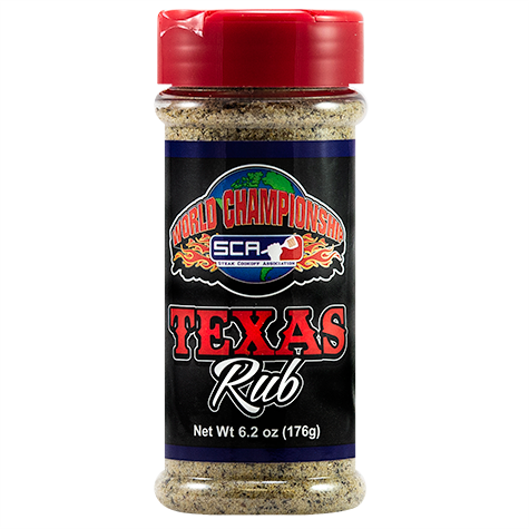 Steak Cookoff Association Texas Rub