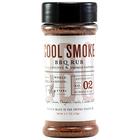 Tuffy Stone Cool Smoke BBQ Rub