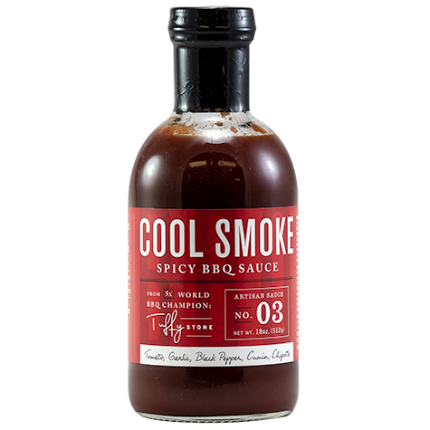 Tuffy Stone Cool Smoke Spicy BBQ Sauc