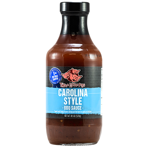 Three Little Pigs Carolina Style BBQ Sauce
