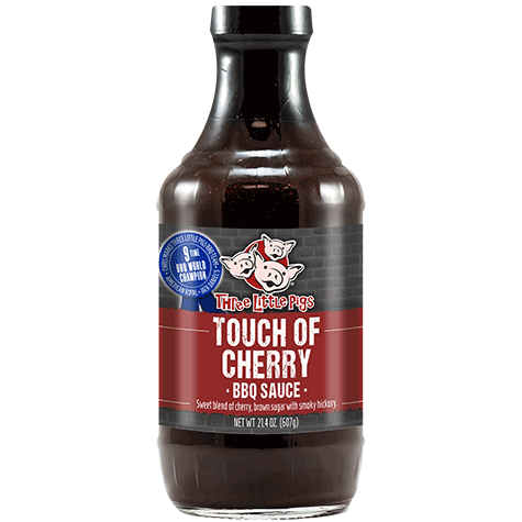 THREE LITTLE PIGS TOUCH OF CHERRY BBQ SAUCE